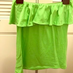 Lilly Pulitzer Wiley Ruffle Top